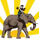 Rogue Produce Logo (Elephant)