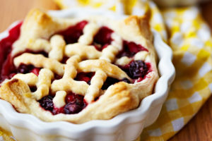Mixed Berry Pie Small