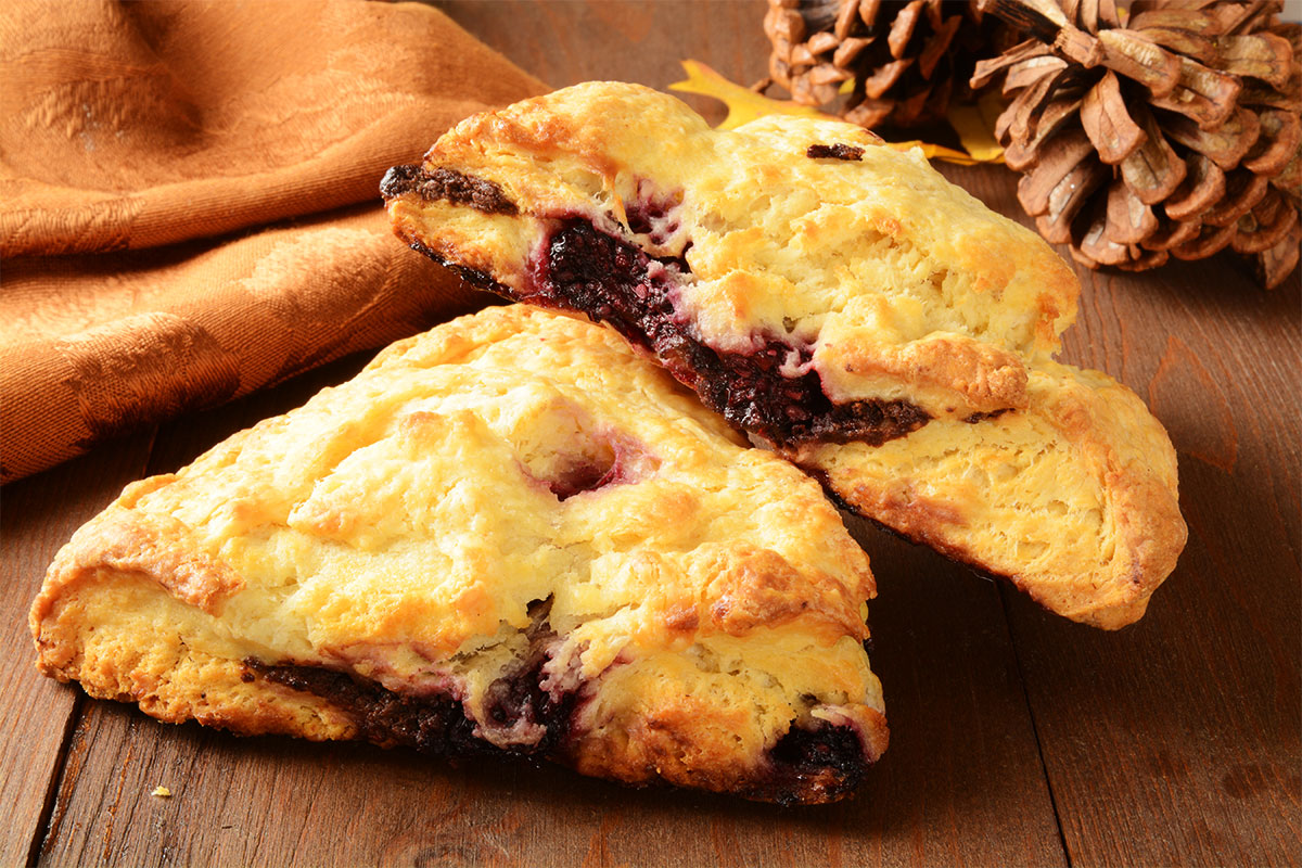 Mixed Berry Turnover