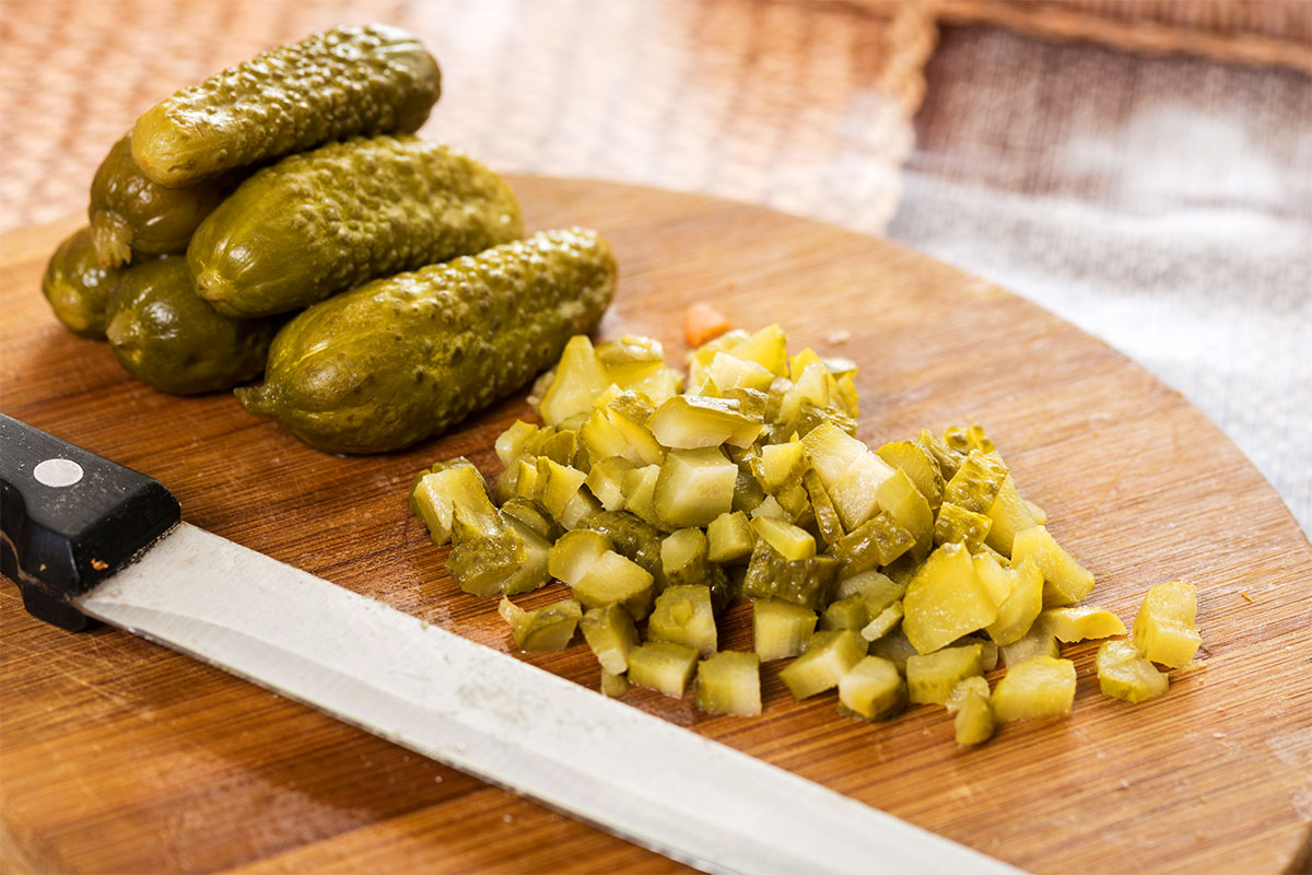 Organic Dill Pickle Relish