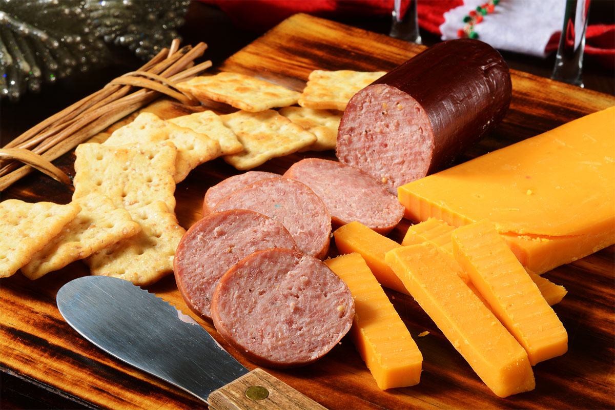 Summer Sausage Round